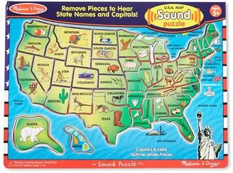 Melissa & Doug USA Sound Puzzle