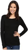 Michael Stars Shine Long Sleeve Crew Neck Women's Clothing