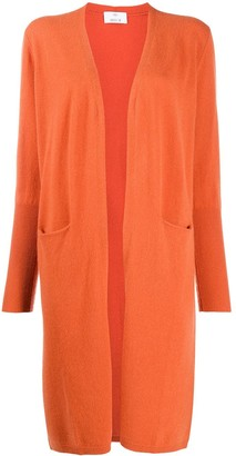 Allude Long-Line Pocket Cardigan