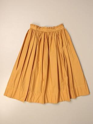Molo Wide High-waisted Skirt