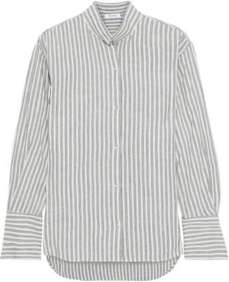 Frame Striped Linen And Cotton-blend Shirt