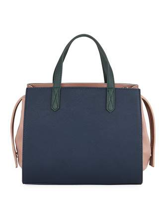 French Connection Barton Two-Tone Satchel Bag