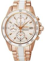 Seiko Women's Sportura SNDW98 Rose Stainless-Steel Quartz Watch