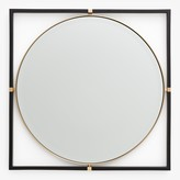 Kate Spade Humphrey Brass Beveled Mirror