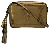 Saint Laurent Metallic Cross Body Bag