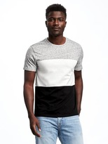 Old Navy Color-Blocked Crew-Neck Tee for Men