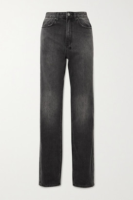 Ksubi Playback High-rise Straight-leg Jeans - Black