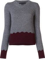 Alexander Wang v-neck jumper - women - Viscose/Cashmere/Lambs Wool - S