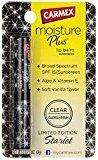 Carmex Moisture Plus Lip Balm SPF 15 Clear, Gloss Finish, Assorted Colors, 0.08 oz