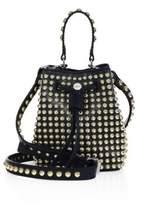 Kenzo Elite Studded Leather Bucket Bag