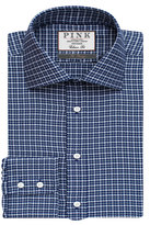 Thomas Pink Bowen Texture Classic Fit Button Cuff Shirt