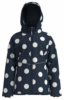 Name It Girl's Nkfmaxi Jacket Big Dot