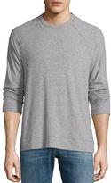 James Perse Sueded Jersey Raglan T-Shirt