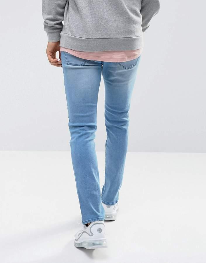 WÅVEN Verner Skinny Fit Jeans in Ice Blue