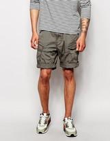 G-star Cargo Shorts Rovic Belted Twill - Grey
