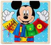 Melissa & Doug Disney Mickey Mouse Clubhouse Wooden Basic Skills Board by