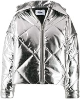 MSGM quilted puffer jacket