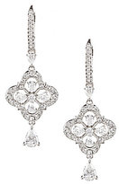 Nadri Victoria Floral Cubic Zirconia Drop Earrings