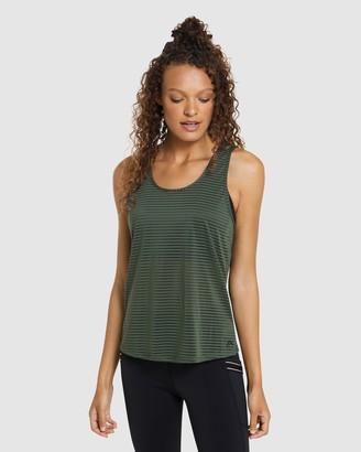 Rockwear - Women's Green Singlets - Autumn Haze Burnout Tank - Size One Size, 6 at The Iconic