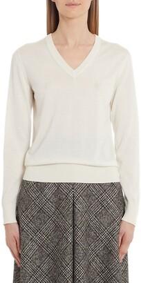 Dolce & Gabbana V-Neck Cashmere & Silk Sweater