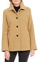 Preston & York Single Breasted Wool Barn Coat