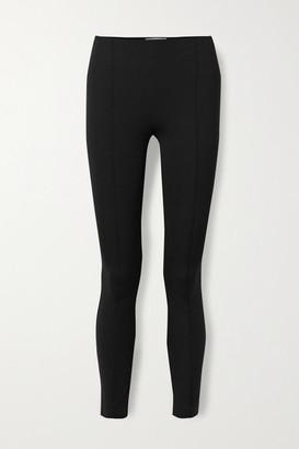The Row Cosso Stretch-ponte Skinny Pants - Black