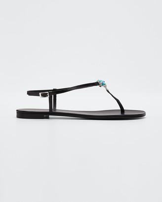 Giuseppe Zanotti Nuvorock Thong Slingback Sandals