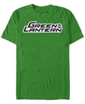Fifth Sun Dc Men's Green Arrow Text Logo Short Sleeve T-Shirt