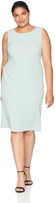 Maya Brooke Women's Plus Size Side Border Jacket Dress