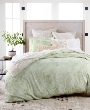Lucky Brand Closeout! Paradise Cotton 230-Thread Count 2-Pc. Twin Duvet Set, Created for Macy's Bedding