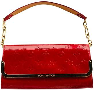 Louis Vuitton Rossmore Red Patent leather Clutch bags