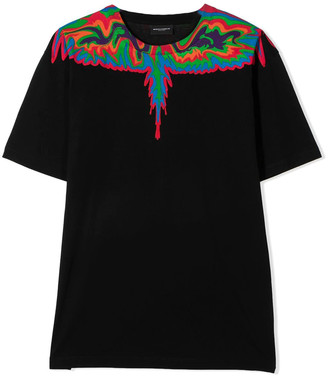 Marcelo Burlon County of Milan T-shirt With Wings Print