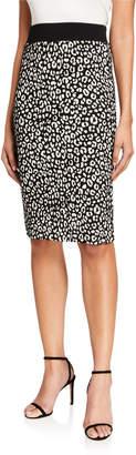 MICHAEL Michael Kors Animal Jacquard Pencil Skirt