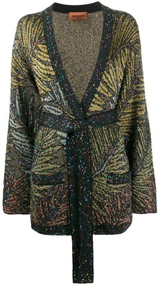 Missoni V-neck sequin-embellished cardigan