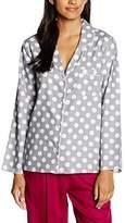 Cyberjammies Women's Lotus Flower Pyjama Top,34 (EU)