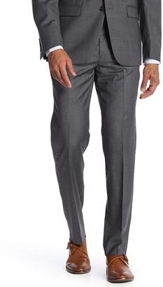 Calvin Klein Grey Sharkskin Slim Fit Suit Separate Pants