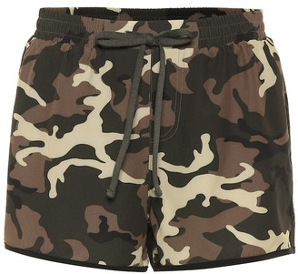 The Upside Camo Run shorts