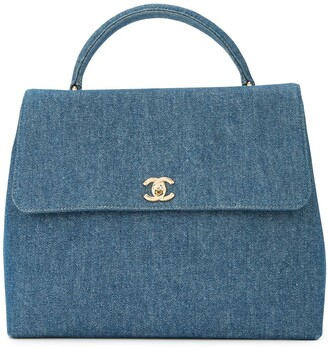 Chanel Pre-Owned 1997-1999 CC turnlock tote bag