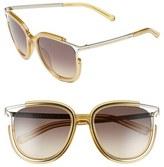 Chloé Women's 'Jayme' 54Mm Retro Sunglasses - Crystal