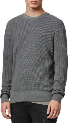 AllSaints Wells Crewneck Slim Fit Sweater