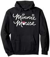 Disney Minnie Mouse Script Hoodie