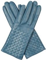 Bottega Veneta Intrecciato-leather gloves