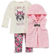 Self Esteem 2-pc. Legging Set-Toddler Girls
