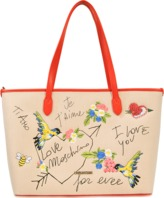 Love Moschino Je t'aime tote bag