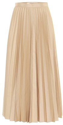 Junya Watanabe High-rise cotton-blend skirt