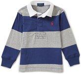 Ralph Lauren Little Boys 2T-7 Striped Long-Sleeve Shirt