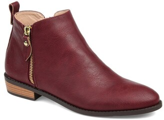 Journee Collection Ellis Round Toe Bootie