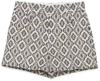 Prada Baroque Print Shorts