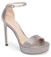 Stuart Weitzman Women's Sohot Crystalline Platform Sandal