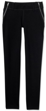 Seven7 Jeans Side-Zip High-Back Leggings
